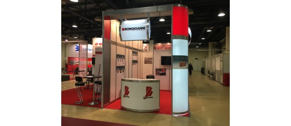 Fiera OCM- CERAMBRICKTECH 29/01/19 - 01/02/19  Expocentre Fairgrounds Mosca Russia - Stand A6 – Hall 3 – Padiglione 7