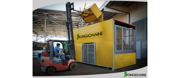 Scrap metal shredder from Bongioanni