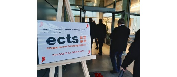 ECTS - Meeting of European ceramic technology suppliers - 24 and 25 October 2019 at the Bongioanni facilities
